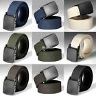 Men's Outdoor Sports Military Tactical Nylon Waistband Male Canvas Web Belt