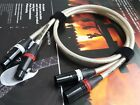1Pair Hifi Silver Plated XLR Audio Cable Balance Wire 4core