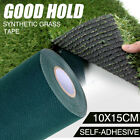 10m x 15cm Artificial Synthetic Grass Turf Tape Self Adhesive Joining Tape Lawn