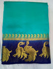 New pakistani indian bollywood sari designer FANCY silk saree traditional b1