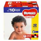HUGGIES Snug & Dry Diapers Size N, 1, 2, 3, 4, 5, 6 - SELECT SIZE & COUNT