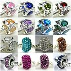 Authentic Solid 925 Sterling Silver Charms AF fit European Bead Charm Bracelets