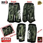 BUKA New MMA Boxing Shorts Gym Muay Thai UFC Cage Fight BJJ Grappling Camo Pants