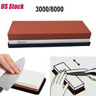 Knife Grit Sharpener Sharpening Water Stone Dual Whetstone 3000#8000 1000#4000