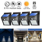 20 LED Solar Powered PIR Motion Sensor Light Outdoor Garden Security Lights