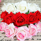 3 Colors Cute Rose Flower Garland Headband Crown For Bride Flower Girl New