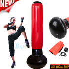Adult Inflatable Punching Bag Strength Training Stand Boxing Workout  Fitness US