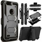 ZTE Zmax Pro,Rugged Armor Kickstand Back Cover For ZTE Carry/ZTE Blade X Max
