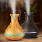 400ml Aroma Essential Oil Diffuser Ultrasonic Air Humidifier 7LED Remote Control