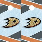 Anaheim Ducks Cornhole Wrap NHL Hockey Game Board Skin Set Vinyl Decal CO171 $59.95 USD on eBay