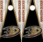 Anaheim Ducks Cornhole Wrap NHL Team Flag Game Board Skin Set Vinyl Decal CO175 $59.95 USD on eBay