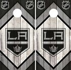 Los Angeles Kings Cornhole Wrap NHL Game Board Skin Set Vinyl Decal Decor CO201 $39.95 USD on eBay