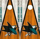 San Jose Sharks Cornhole Wrap NHL Vintage Game Board Skin Set Vinyl Decal CO206 $39.95 USD on eBay