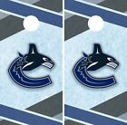 Vancouver Canucks Cornhole Wrap NHL Hockey Game Board Skin Set Vinyl Decal CO211 $39.95 USD on eBay