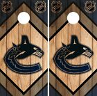 Vancouver Canucks Cornhole Wrap NHL Game Board Skin Set Vinyl Decal CO212 $59.95 USD on eBay