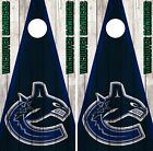 Vancouver Canucks Cornhole Wrap NHL Vintage Game Skin Set Vinyl Decal CO213 $39.95 USD on eBay