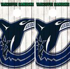 Vancouver Canucks Cornhole Wrap NHL Game Board Skin Set Vinyl Decal Art CO217 $39.95 USD on eBay