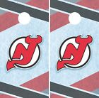 New Jersey Devils Cornhole Wrap NHL Hockey Game Board Skin Set Vinyl Decal CO233 $39.95 USD on eBay