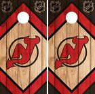 New Jersey Devils Cornhole Wrap NHL Game Board Skin Set Vinyl Decal CO234 $59.95 USD on eBay