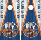 New York Islanders Cornhole Wrap NHL Game Board Skin Set Vinyl Decal Art CO240 $59.95 USD on eBay