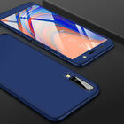 360° Full Cover Case + Tempered Glass For Samsung Galaxy A3 A5 A6 A8 Plus A7 A9