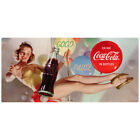 Coca-Cola Circus Girl Good Pause Wall Decal Vintage Style Decor Coke $15.99  on eBay