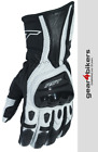 RST R-18 Semi Sport White Leather Glove Motorcycle Scooter Motorbike Gloves R18