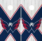 Washington Capitals Cornhole Wrap NHL Vintage Game Skin Set Vinyl Decal CO268 $39.95 USD on eBay