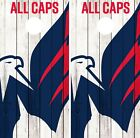 Washington Capitals Cornhole Wrap NHL Logo Game Skin Set Vinyl Decal CO271 $39.95 USD on eBay