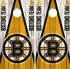 Boston Bruins Cornhole Wrap NHL Vintage Game Board Skin Set Vinyl Decal CO274 $59.95 USD on eBay