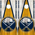 Buffalo Sabres Cornhole Wrap NHL Vintage Game Board Skin Set Vinyl Decal CO281 $39.95 USD on eBay
