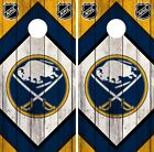 Buffalo Sabres Cornhole Wrap NHL Game Board Skin Set Vinyl Decal Art CO283 $39.95 USD on eBay