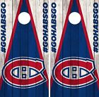 Montreal Canadiens Cornhole Wrap NHL Vintage Game Skin Set Vinyl Decal CO301 $39.95 USD on eBay