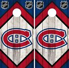 Montreal Canadiens Cornhole Wrap NHL Game Board Skin Set Vinyl Decal Art CO303 $39.95 USD on eBay