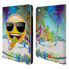 OFFICIAL EMOJI SOLOS LEATHER BOOK WALLET CASE COVER FOR APPLE iPAD
