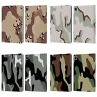 HEAD CASE DESIGNS MILITARY CAMO LEATHER BOOK WALLET CASE COVER FOR APPLE iPAD