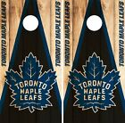 Toronto Maple Leafs Cornhole Wrap NHL Game Board Skin Set Vinyl Decal Art CO323 $39.95 USD on eBay