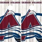 Colorado Avalanche Cornhole Wrap NHL Logo Game Board Skin Set Vinyl Decal CO337 on eBay
