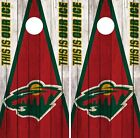 Minnesota Wild Cornhole Wrap NHL Vintage Game Board Skin Set Vinyl Decal CO346 $59.95 USD on eBay
