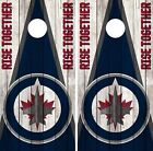 Winnipeg Jets Cornhole Wrap NHL Vintage Game Board Skin Set Vinyl Decal CO363 $39.95 USD on eBay