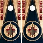 Winnipeg Jets Cornhole Wrap NHL Game Board Skin Set Vinyl Decal Art Decor CO365 $39.95 USD on eBay
