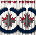Winnipeg Jets Cornhole Wrap NHL Logo Game Board Skin Set Vinyl Decal Art CO366 $39.95 USD on eBay