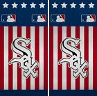 Chicago White Sox Cornhole Wrap MLB America Game Skin Set Vinyl Decal CO379 on Ebay