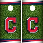 Cleveland Indians Cornhole Wrap MLB Field Game Board Skin Set Vinyl Decal CO386 on Ebay
