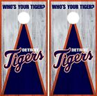 Detroit Tigers Cornhole Wrap MLB Vintage Game Board Skin Set Vinyl Decal CO393 on Ebay