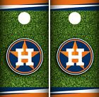Houston Astros Cornhole Wrap MLB Field Game Board Skin Set Vinyl Decal CO397 on Ebay