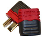 AMASS Deans T style Male/Female Connector Pairs with Insulating Caps LOT x1-20