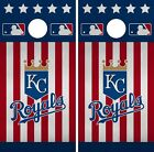 Kansas City Royals Cornhole Wrap MLB America Game Skin Set Vinyl Decal CO402 on Ebay