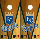 Kansas City Royals Cornhole Wrap MLB Game Board Skin Set Vinyl Decal CO404 on Ebay