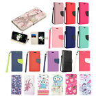 for LG Aristo 2 X210/Tribute Dynasty Flip Jacket Wallet Pouch Case Cover+PryTool